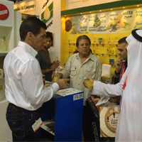 Introducing EPSA Cola Light with sweetener from stevia plant in Gulfood