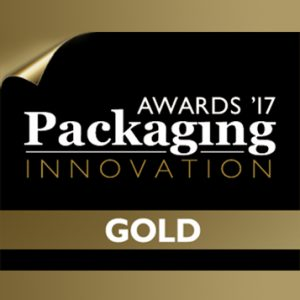 Gold Award - Packaging Innovation Awards 2017