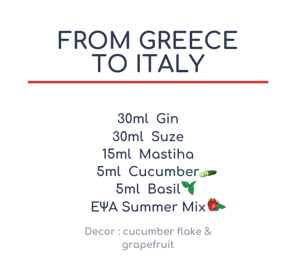 From Greece to Italy