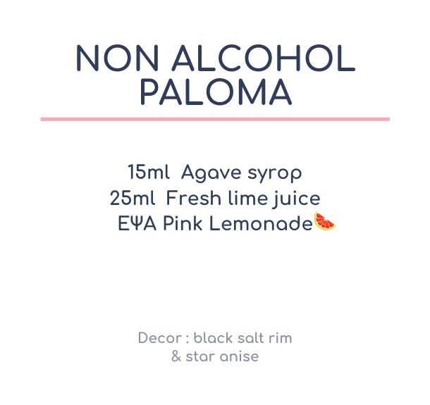 Non-Alcohol Paloma
